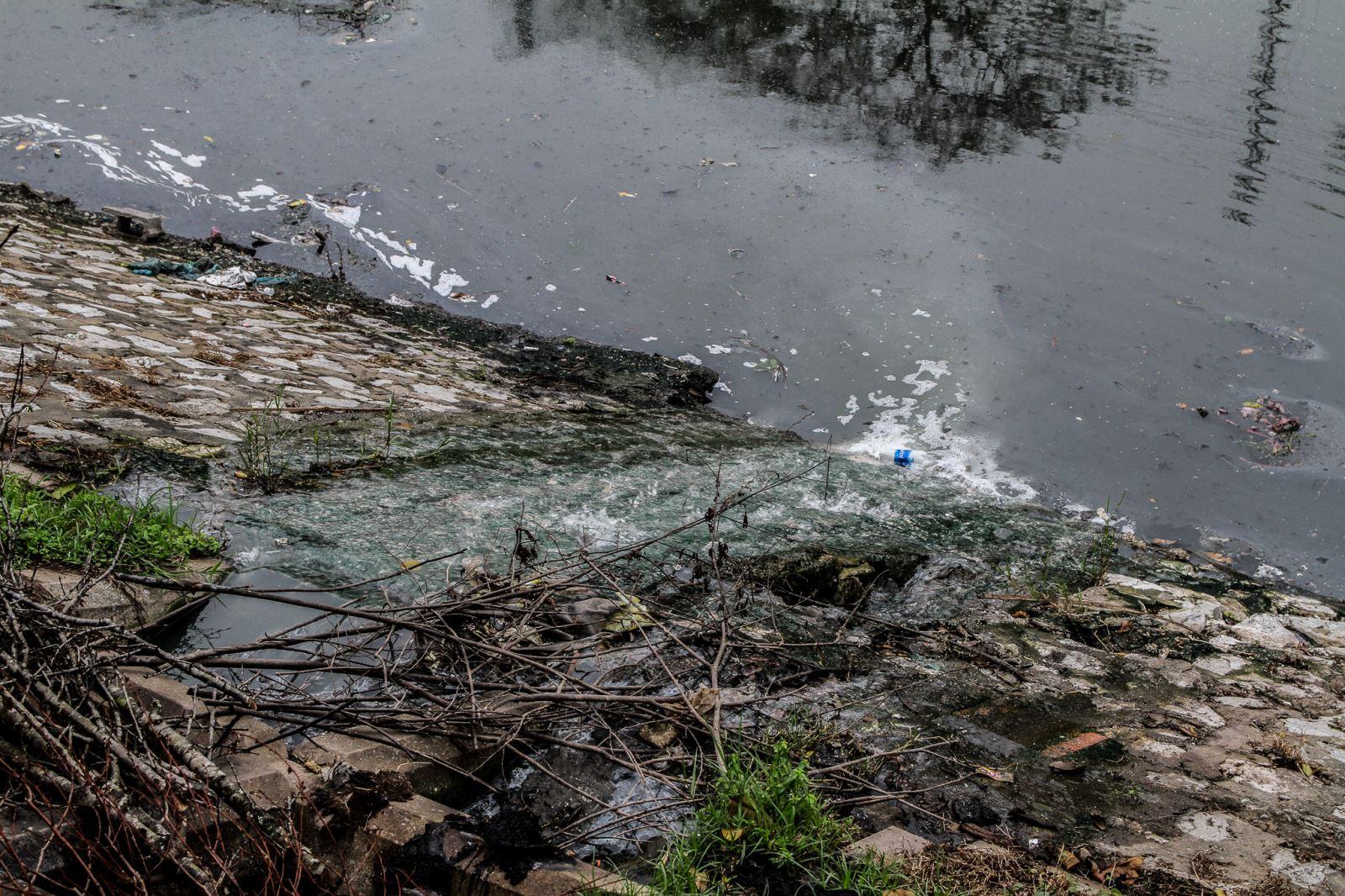 Giảm nước thải làng nghề