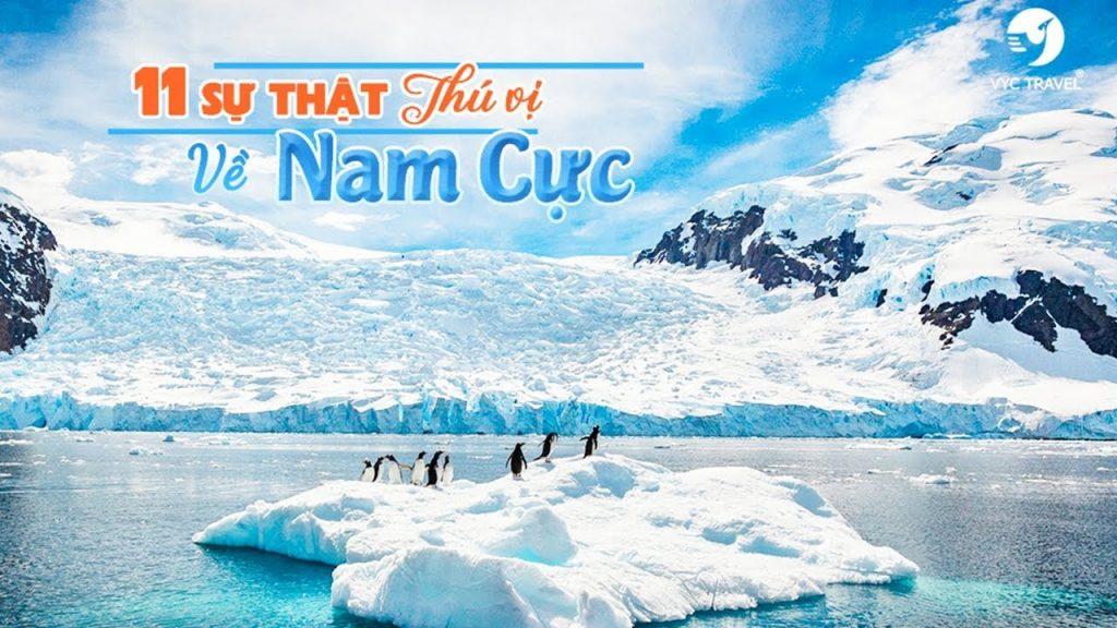 điều thú vị của châu Nam Cực