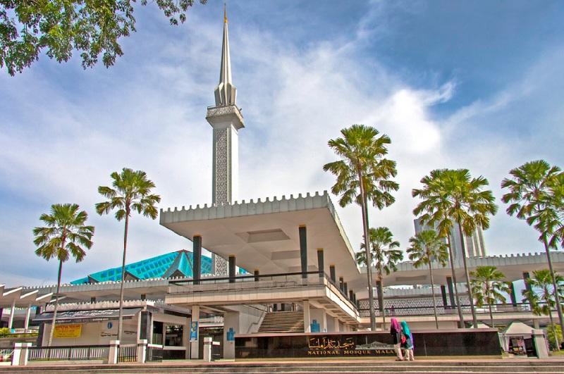 Nhà-thờ-Hồi-giáo-Quốc-gia-Kuala-Lumpur